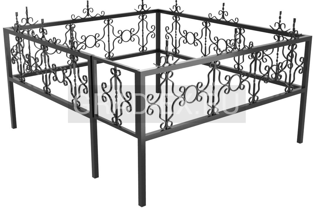 Ограда Премиум класса №2 из металла