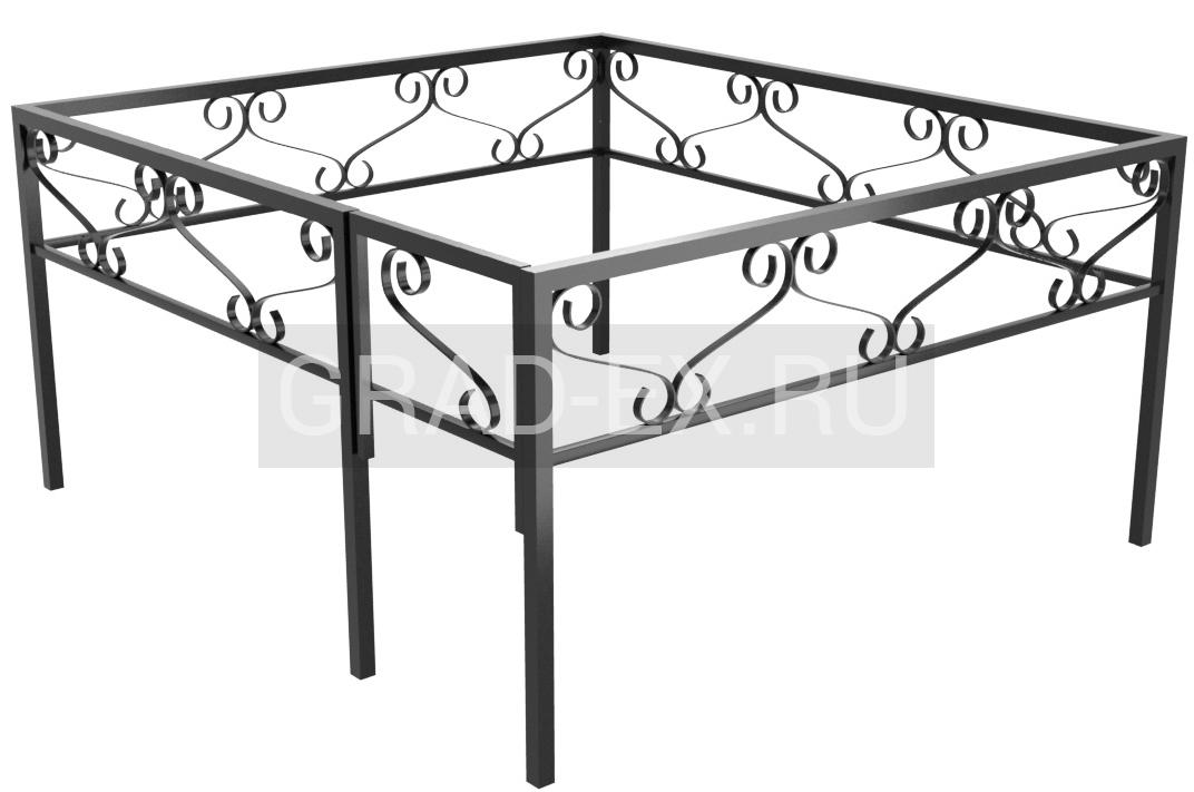 Ограда Премиум класса №18/30 из металла