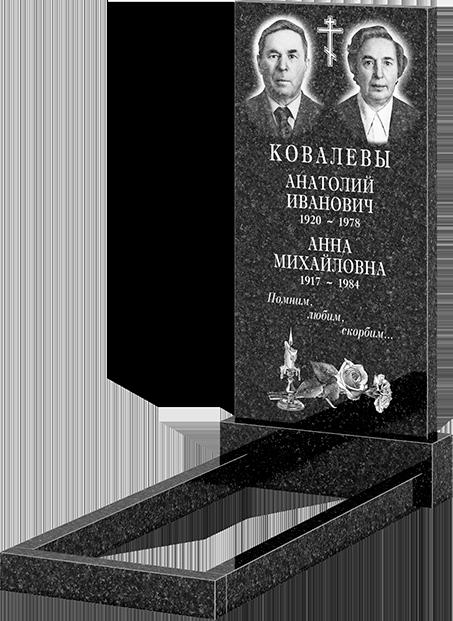 Комплект памятника (арт: 100х50)