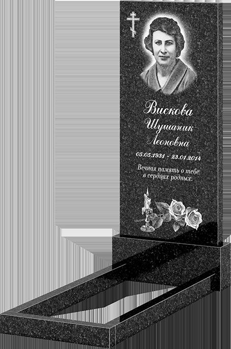 Комплект памятника 110х50х6 (арт: 110х50)