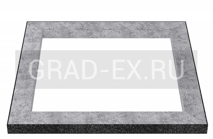 Облицовка цементного цоколя гранитной плитой