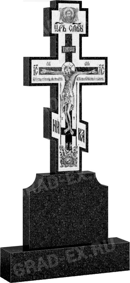 Крест из гранита (арт: 132)