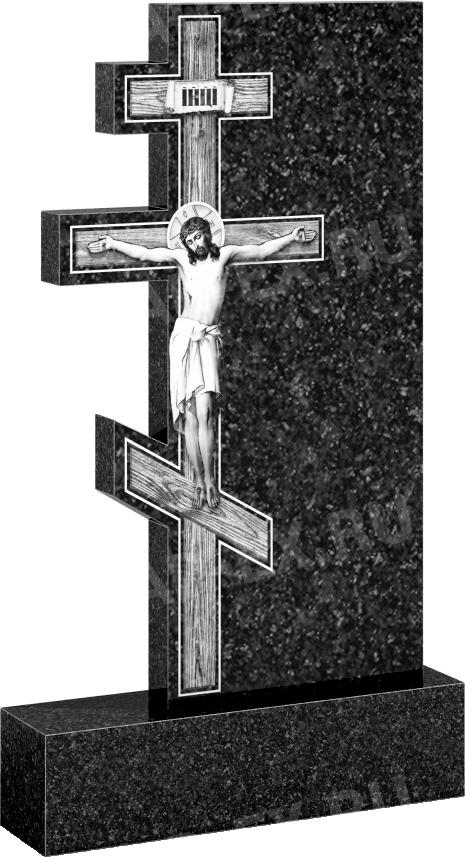Крест из гранита (арт: 136)