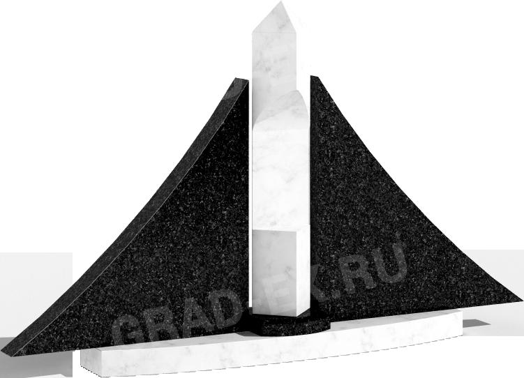 Памятник из гранита (арт: 166)