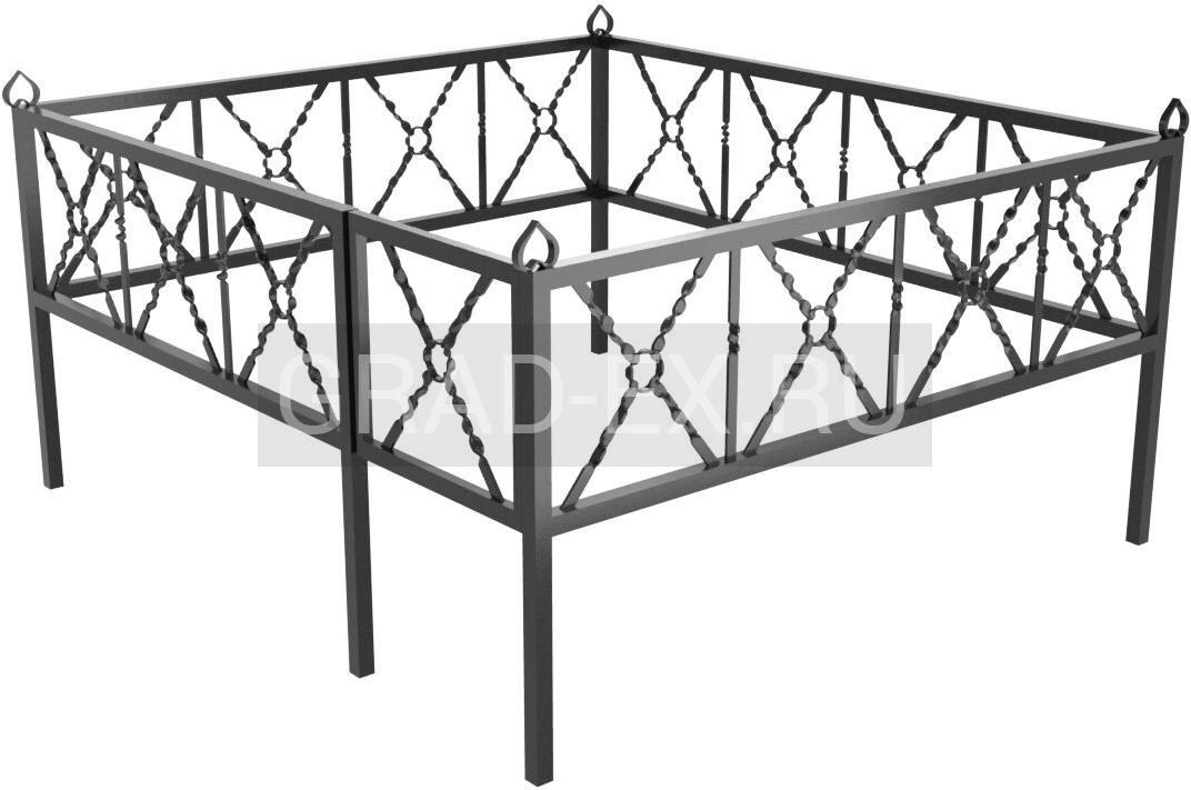Ограда Премиум класса №22 из металла