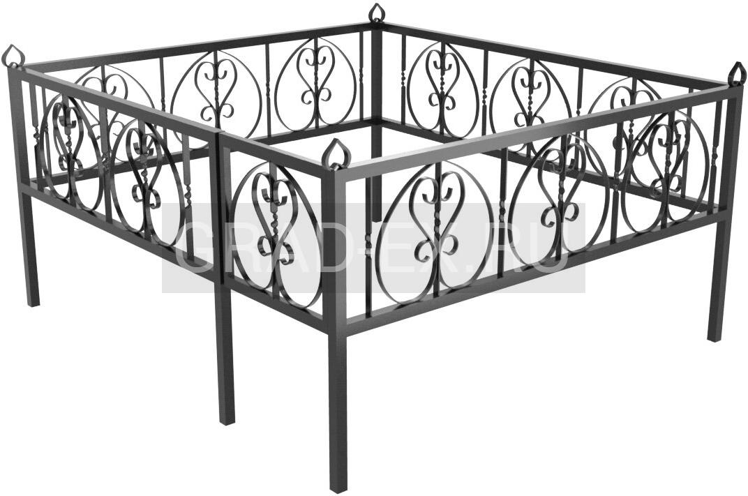 Ограда Премиум класса №23 из металла