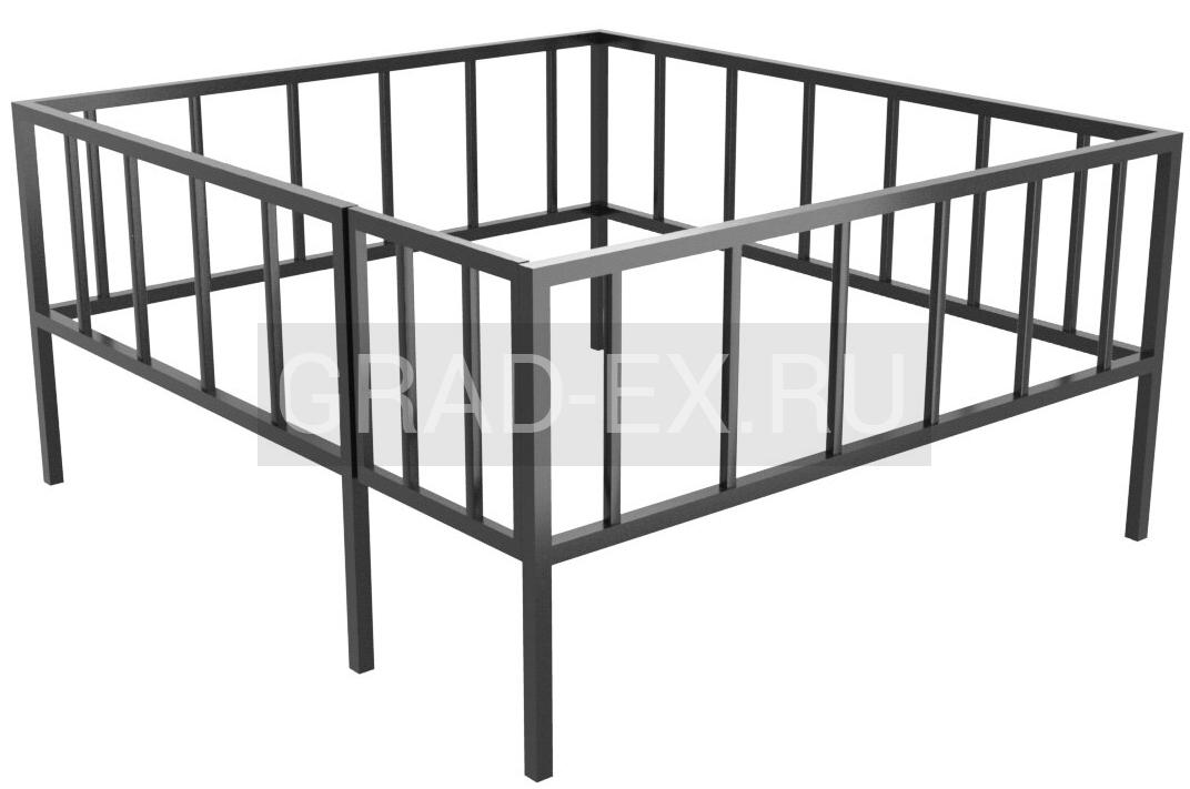 Ограда Премиум класса №26/50 из металла