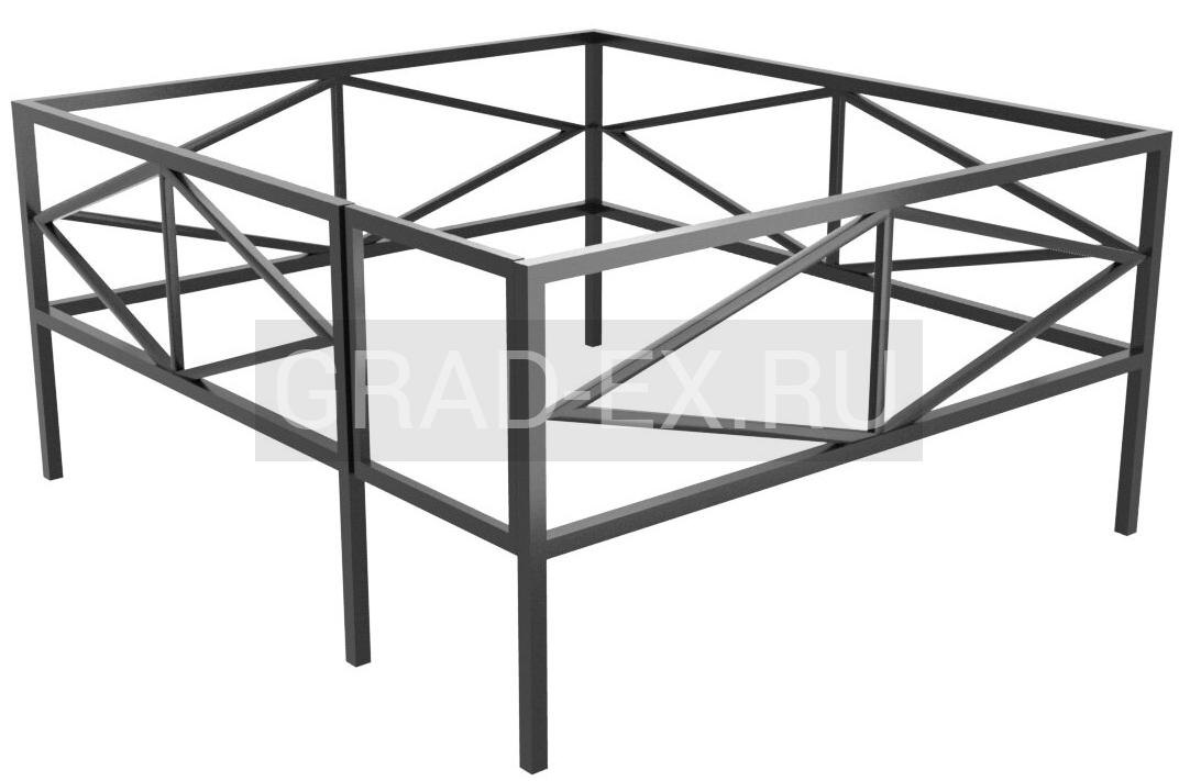 Ограда Премиум класса №28/20 из металла