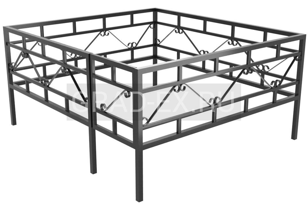 Ограда Премиум класса №30 из металла