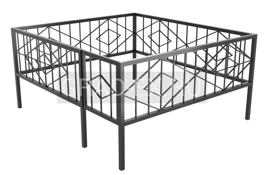 Ограда Премиум класса №31 из металла