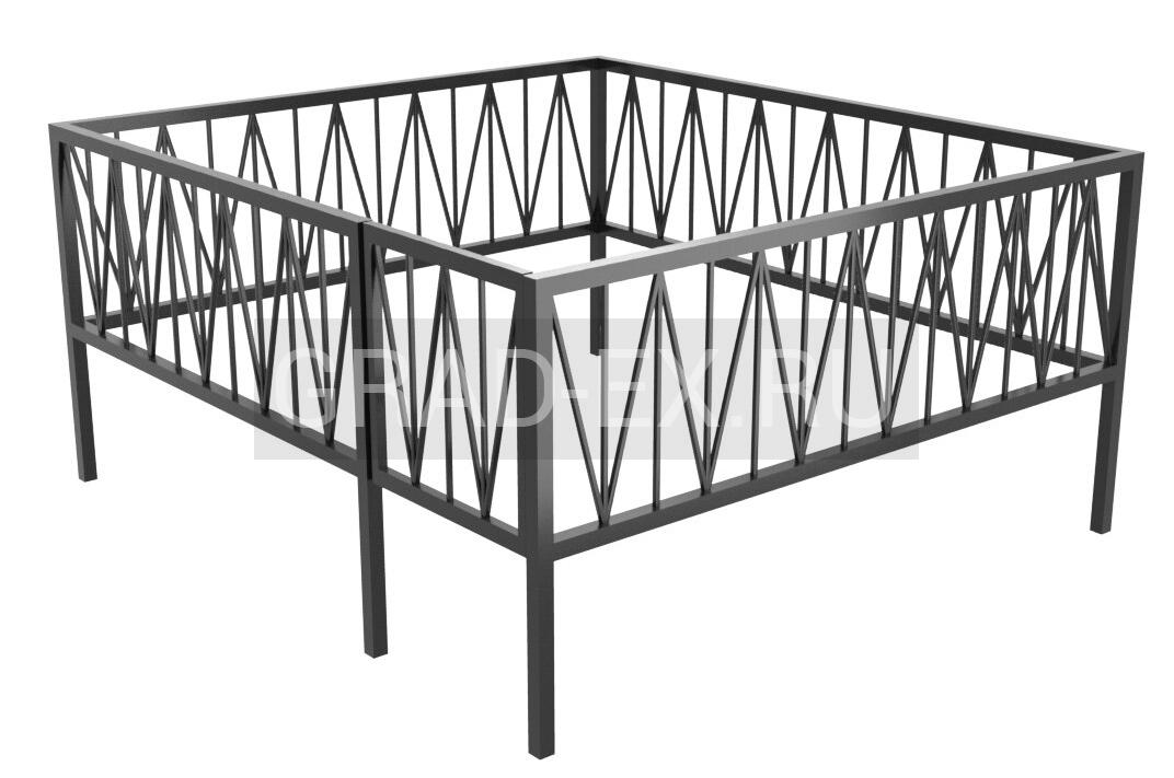Ограда Премиум класса №32 из металла