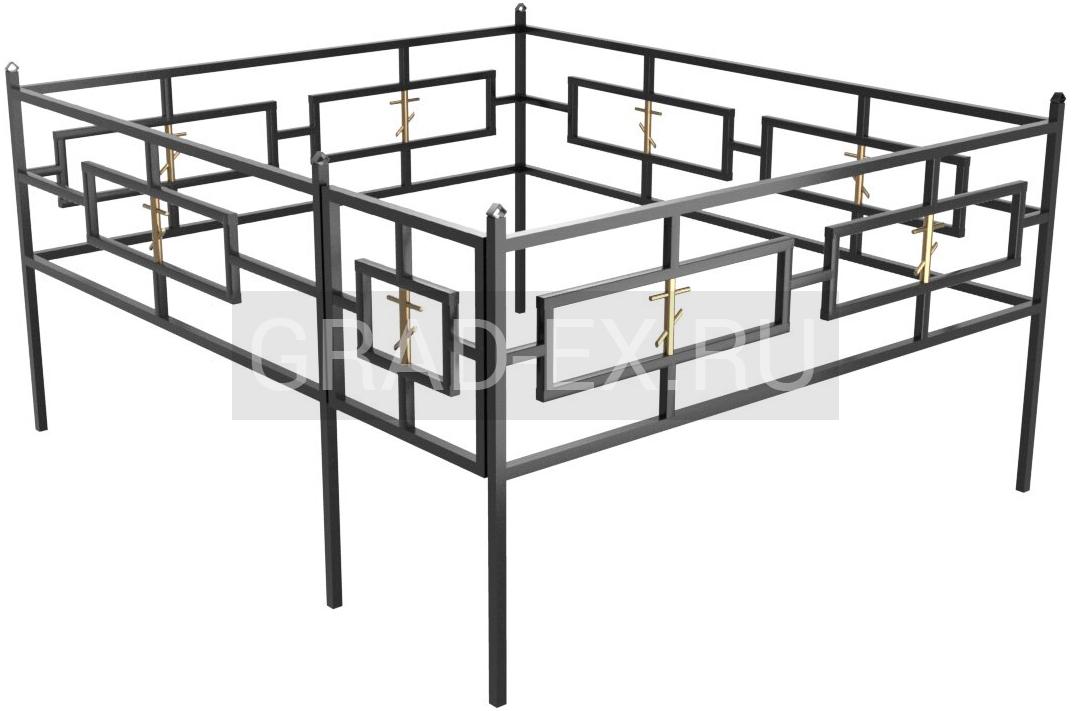 Ограда Премиум класса №36 из металла