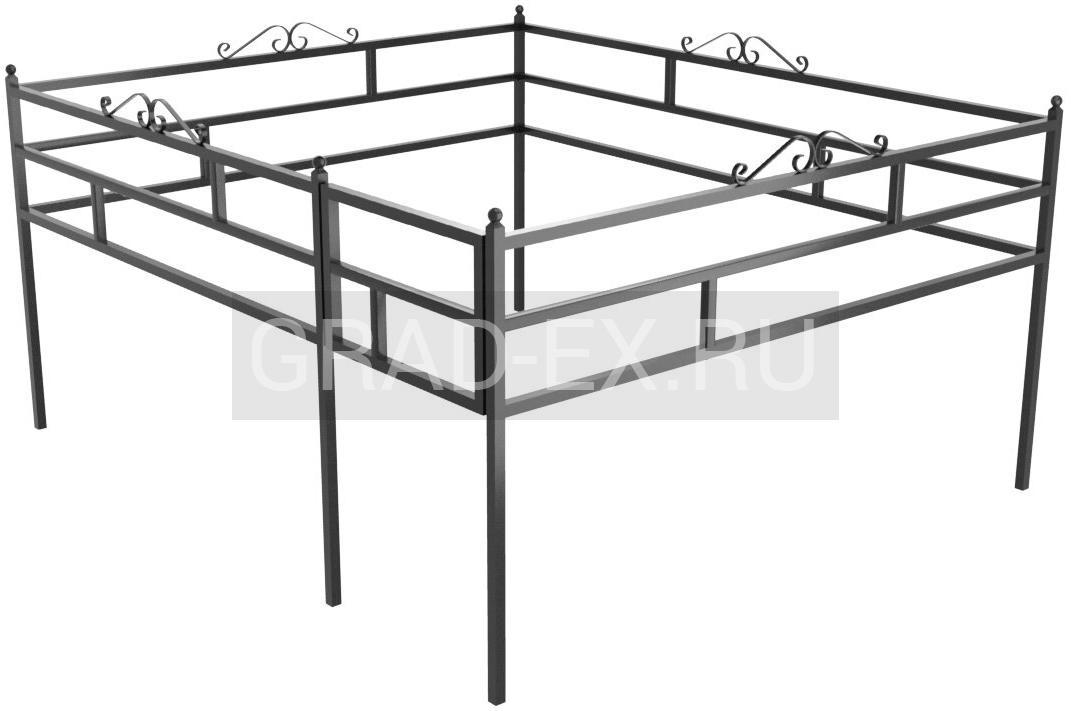 Ограда Эконом класса №39/50 из металла