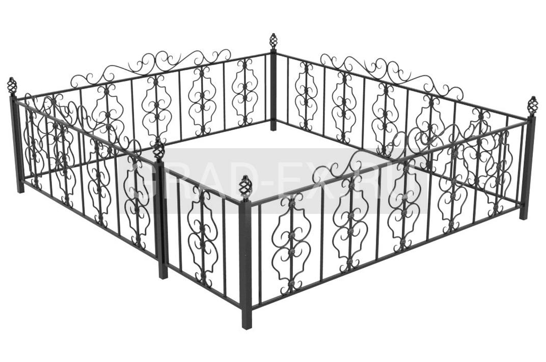 Ограда №III из ковки