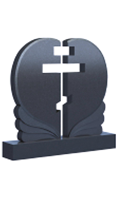 Памятник с крестом 019