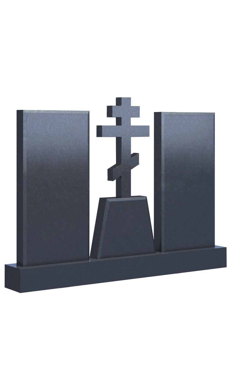 Памятник с крестом 021